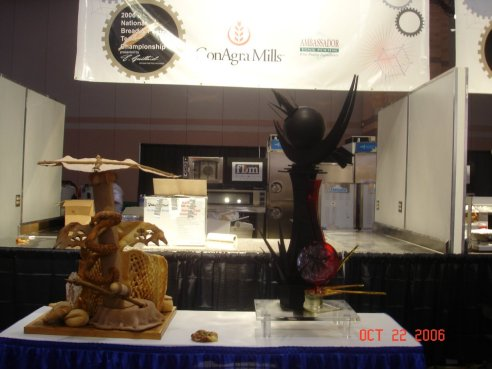 Paul Bodrogi CEPC Chocolate and Sugar showpiece