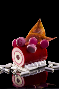 Strawberry Vanilla Entremet Glace