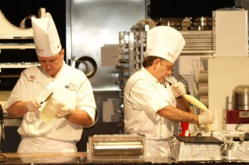 Team USA at work on Pastry