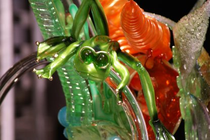 blown sugar frog competition showpiece