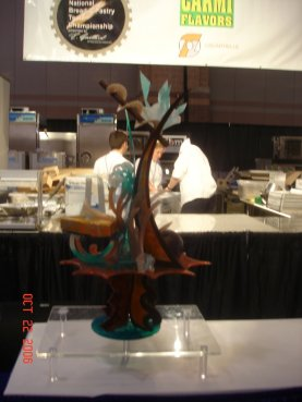 Jared Danks Chocolate and Sugar Showpiece