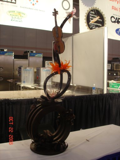 Loan CO chocolate and Sugar Showpiece Bread and Pastry Championship