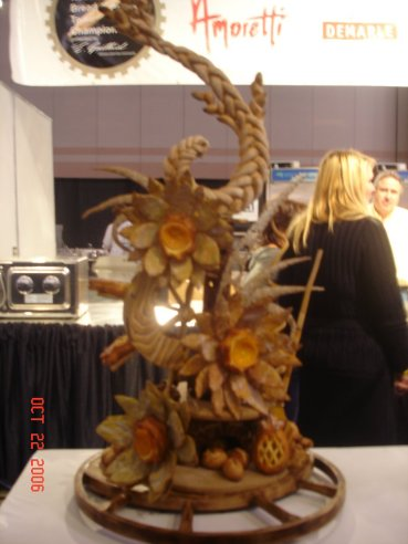 Mitch Stamm Bread and Pastry Championship showpiece