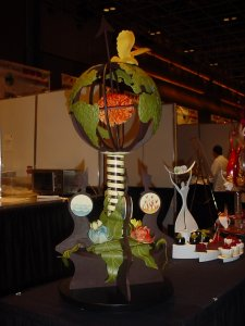 Austrailia Chocolate Showpiece